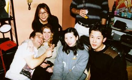 Myself, Christie, Wei-wei, Selena and Matthew.